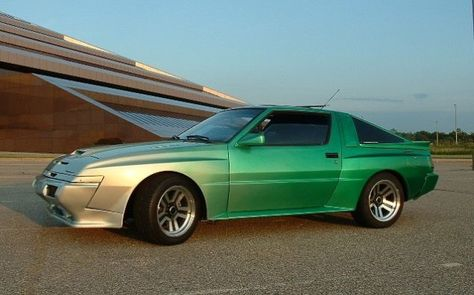 Mitsubishi Starion Esi R And Chrysler Conquest Tsi Oh Yeah