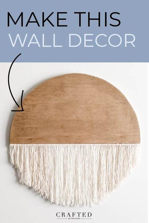 Easy DIY Wall Decor
