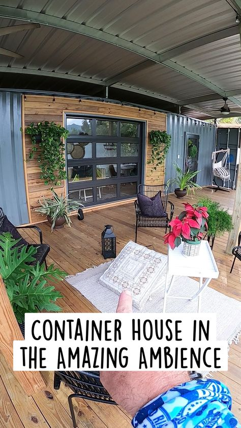 Container House in   the Amazing Ambience