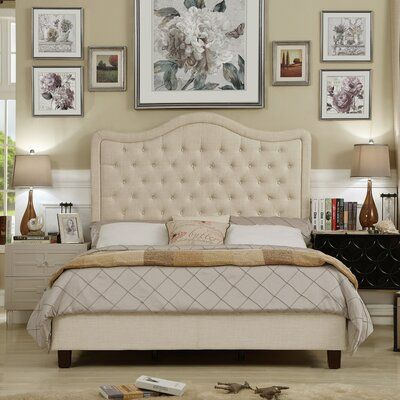 Darby Home Co Turin Upholstered Standard Bed Panel Bed