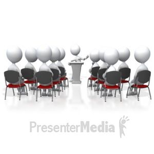 Presenting To Audience 3d Animated Clipart For Powerpoint Presentermedia Com Clip Art Animated Clipart Powerpoint