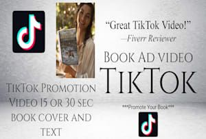 Pronomics I Will Create A Tiktok Video For Your Book For 10 On Fiverr Com Promote Book Video Ads Books