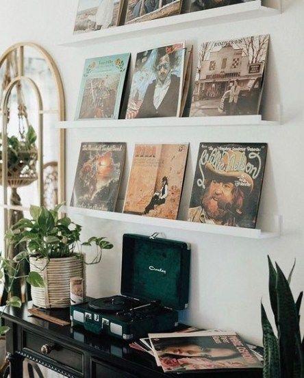 Music Room Home Ideas Shelves 41 Ideas Music Home Retro Home