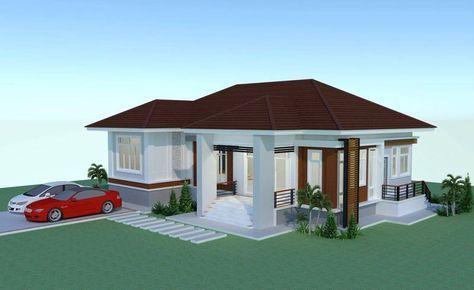 Review Elevated 3 Bedroom Thai House Design Pinoy Eplans Rumah Besar Rumah Impian Arsitektur