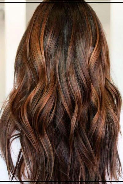 Cinnamon Brown With Golden Auburn Balayage Why Should Blondes Have All The Fun With The Coming Of Spring Hair Color Auburn Auburn Balayage Balayage Brunette