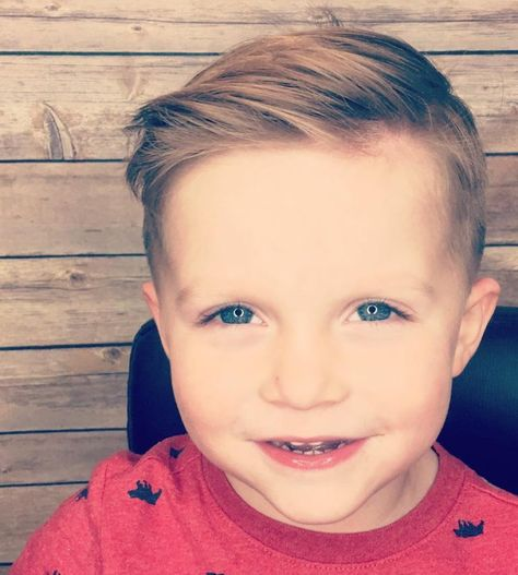 33 Most Coolest and Trendy Boy's Haircuts 2018 - Haircuts & Hairstyles 2019 Cool Kids Haircuts, Boys Haircuts 2018, Cute Toddler Boy Haircuts, Boy Haircuts Long, Little Boy Hairstyles, Toddler Boy Hairstyles, Best Hairstyle For Kids, Baby Haircut, Comb Over Haircut