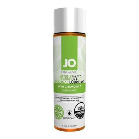 System Jo Original Organic Water Based Lubricant 8 Oz Organic