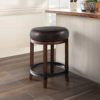 Carson 2 In 1 Swivel Barstool With Images Bar Stools Backless