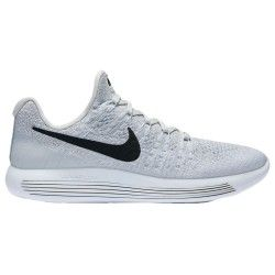 Nike Lunarepic Low Flyknit 2 Women S Running Shoes White Black