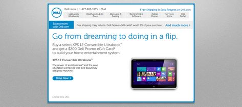 Email Marketing: How a creative throwback helped Dell boost revenue 109% | MarketingSherpa Blog