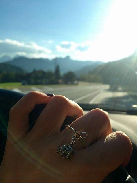 Der süße Elefanten-Ring hat wahrlich seine richtige Besitzerin erhalten  Passt einfach perfekt! Danke für dieses tolle Foto :)