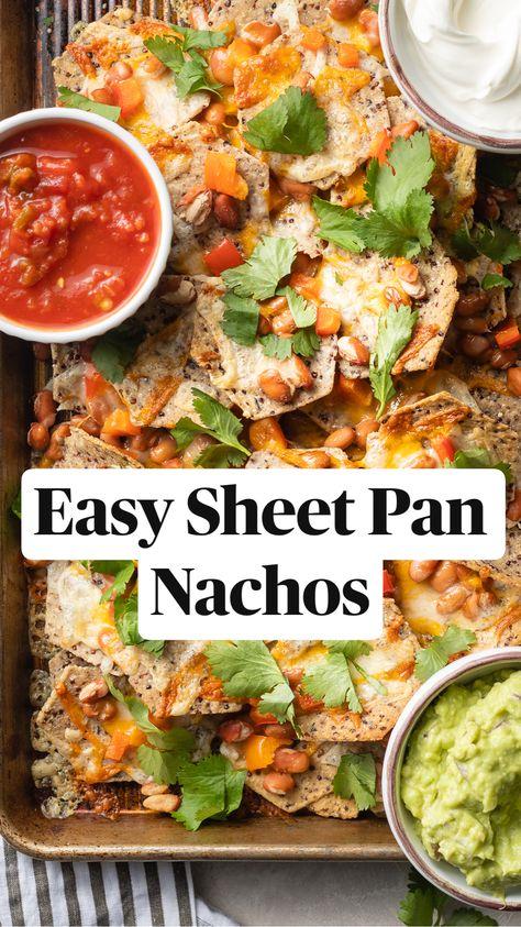 Easy Sheet Pan Nachos