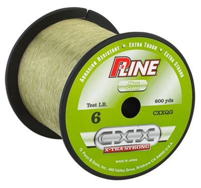 P-Line Cxx Crystal Clear X-Tra Strong Fishing Line 300 Yards Select Lb Test