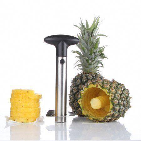 1pc stainless steel Fruit Pineapple Peeler Cutter Pineapple Slicer FF