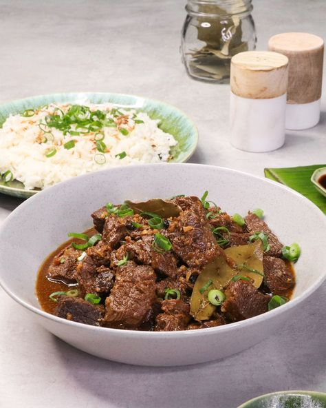 Travel with your tastebuds and fall in love with this Filipino favourite — Beef Adobo! Simple to prepare but big on flavour.