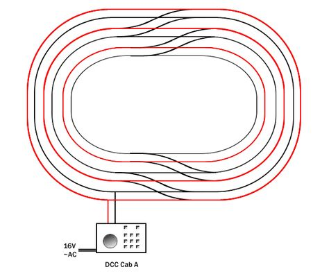 9d00df7fc71a2e3e62bbf77852e6191a ho scale trens rr train track wiring wire dcc trains pinterest train hornby dcc wiring diagram at n-0.co