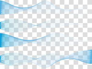 Exquisite Blue Dynamic Lines Texture Four Wave Datas Transparent Background Png Clipart Transparent Background Wave Illustration Geometric Background