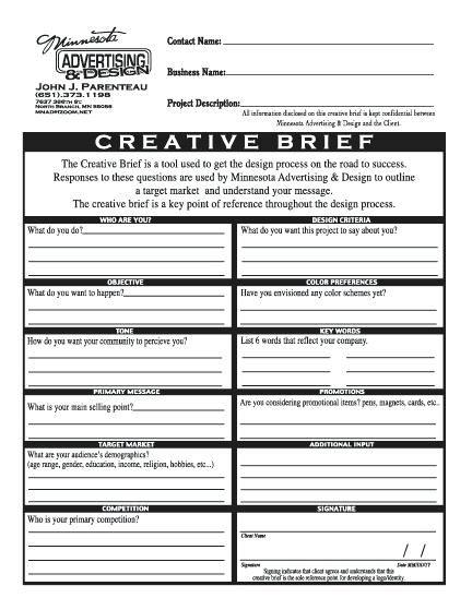 Image Result For Creative Brief Template Pdf Brief Web Design Webdesign