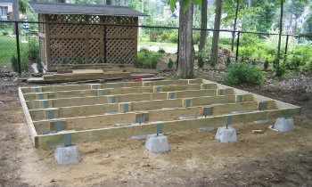 How To Build A Shed Foundation With Deck Blocks Building A Shed Base Simple Shed Building A Shed