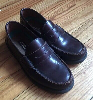 Details About Hush Puppies Lincoln Leather Loafers Big Boys Youth Size 4m Dress Church Hush Puppies Leather Loafers Loafers