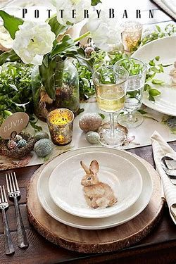 Image Result For Casual Easter Table Decoration Ideas Pinterest Easter Table Settings Easter Tablescapes Easter Table