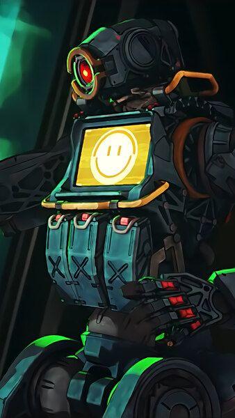Pathfinder Happy Emoticon Apex Legends Season 3 4k Hd Mobile