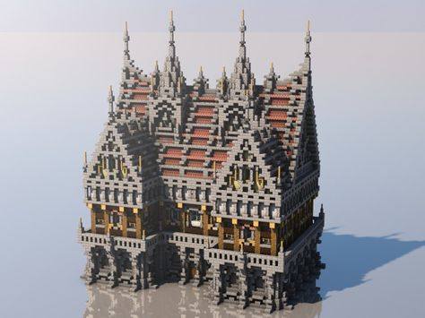 The Minecraft Medieval Buildings Collection was contributed by