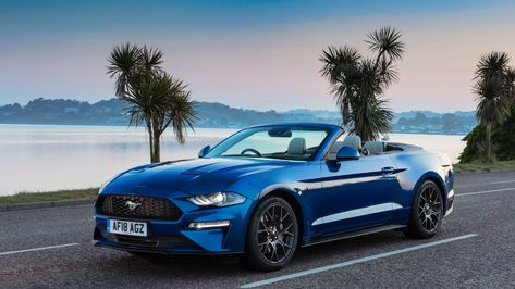 Ford Mustang Ecoboost Convertible 2018 4k Mustang Wallpapers Hd