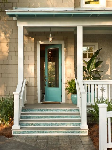 HGTV Smart Home! We love these mosaic glass-tiled steps. Register for a chance to win this high-tech beach house 2x daily through May 31, 2013 at 5 p.m. ET. http://www.hgtv.com/smart-home/hgtv-smart-home-2013-front-yard-pictures/pictures/page-10.html?soc=pinterest