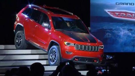 2017 Jeep Grand Cherokee Trailhawk Summit At 2016 New York Auto