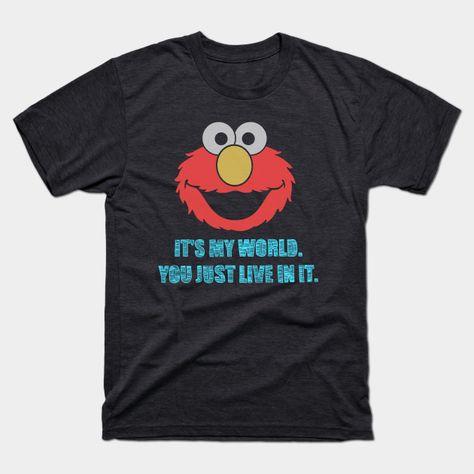 Elmo's World - Mens T-Shirt