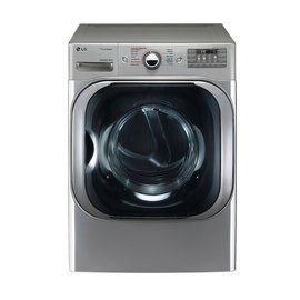 Lg 9 0 Cu Ft Gas Dryer With Truesteam Graphite Steel Dlg8101v Electric Dryers Gas Dryer Stackable Washer