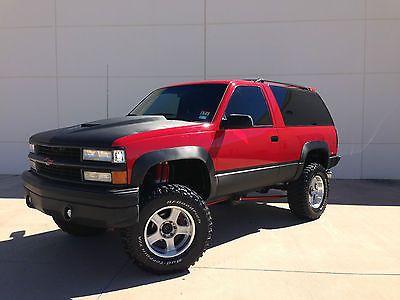 1994 Chevy Blazer 4x4 Custom 100k Build 1 Owner Rare Lifted Supercharged Chevrolet Blazer Chevy Lifted Chevy Trucks
