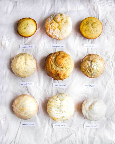 Best Lemon Poppy Seed Muffin Bake Off - The Pancake Princess