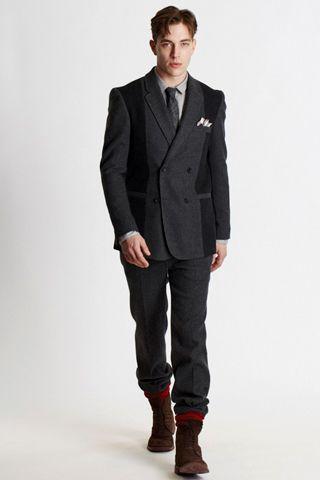 Bespoken Fa'12 RTW  Cool jacket...
