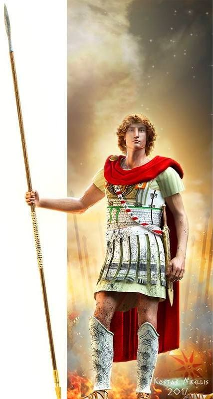 Alexander III of Macedon, commonly known as Alexander the Great, was a king  of the ancient Greek kingdom of Ma… | Alexander the great, Greek warrior,  Ancient greece