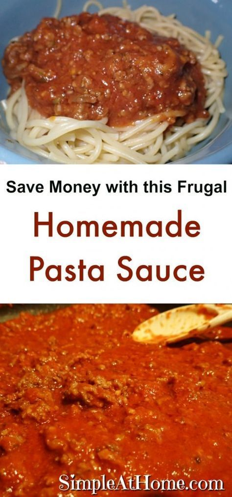 Making your own pasta sauce is a great way to save money while giving your family the best. If you grow a garden and can your own tomatoes you can make this for nearly free. If not tomato paste from your local Aldi is only 29 cents a can. This is how we make our pasta...Read More » #chicken pasta #easy pasta #Frugal #healthy pasta #Home #homemade #homemade pasta #Money #pasta #pasta bake #pasta recipes #pasta rezepte #pasta sauce #Sauce #Save #Simple