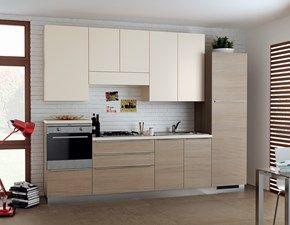 Cucina design larice Scavolini lineare Urban & urban minimal ...