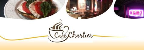 Cafe Chartier is a great coffee shop in down town Lexington, SC.