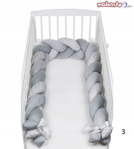 Ochraniacz Do Lozeczka Warkocz 140 Cm Toddler Bed Furniture Bed