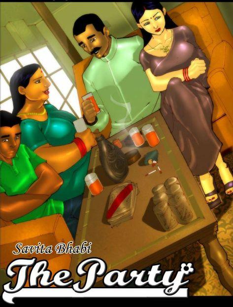 Savita bhabhi Porno-Comic hindi