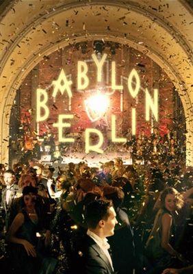 Babylon Berlin Poster Plakat Kunst Art Deco