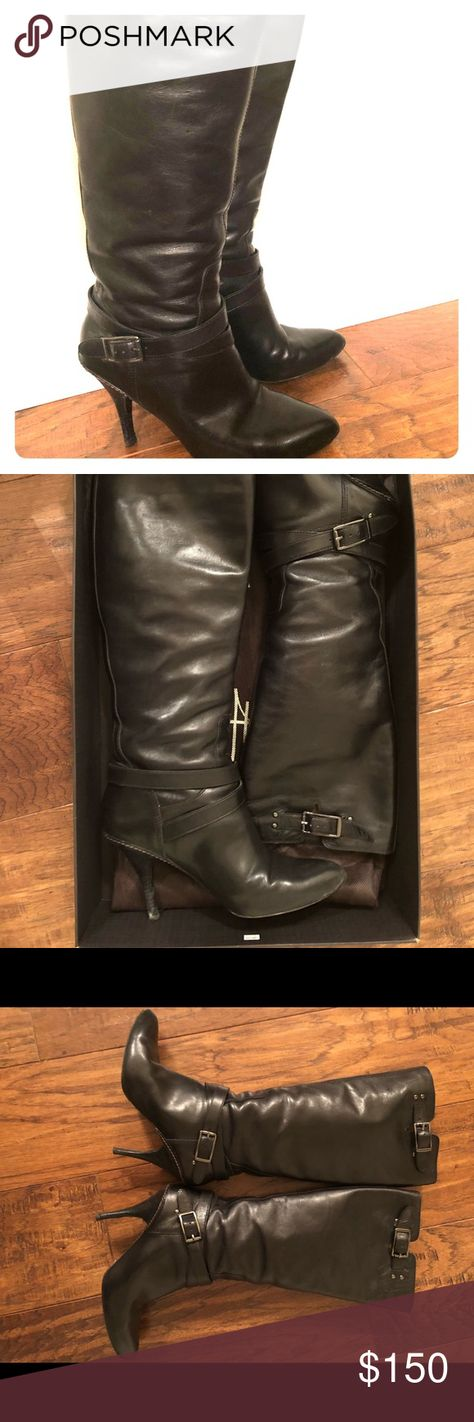 Womens Boots Clean and Classic 56727398 Vince Cagney Shearling Fur Lined Moto Black