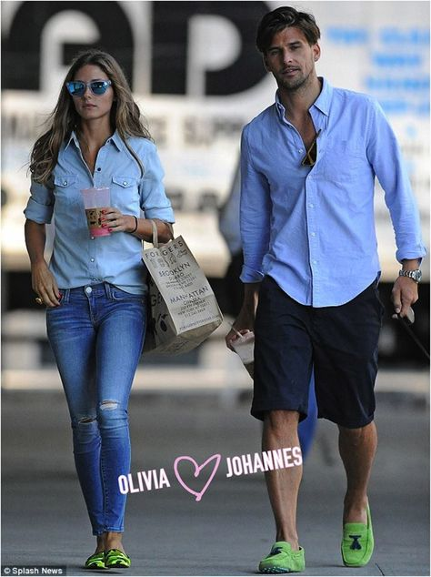 Olivia Palermo & Johannes  - their coordinated outfits bring me great joy
