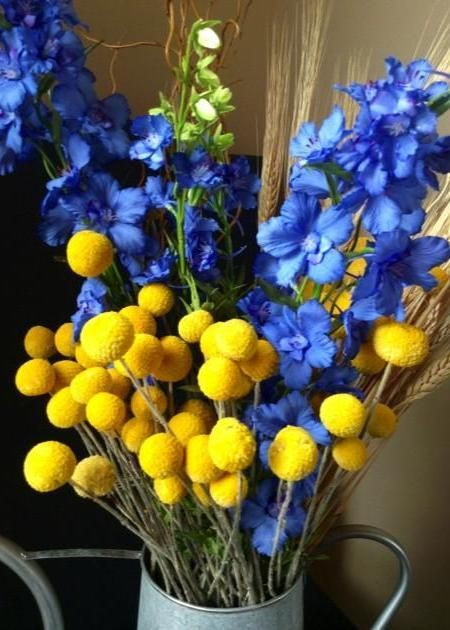 Billy Buttons Natural Wedding Afloral Com Billy Buttons Diy Wedding Flowers Tropical Wedding Flowers