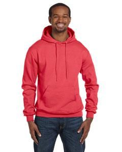 S Scarlet Champion Youth Double Dry Action Fleece Pullover Hood Size
