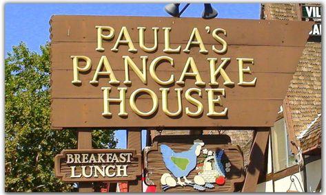 I have to remember to visit this place next time I'm in Solvang/ Santa Barbara. Danish Pancakes -- yum.