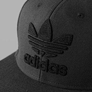 531770a5dc96c Amazon.com: adidas Men's originals snapback flatbrim cap, Black ...