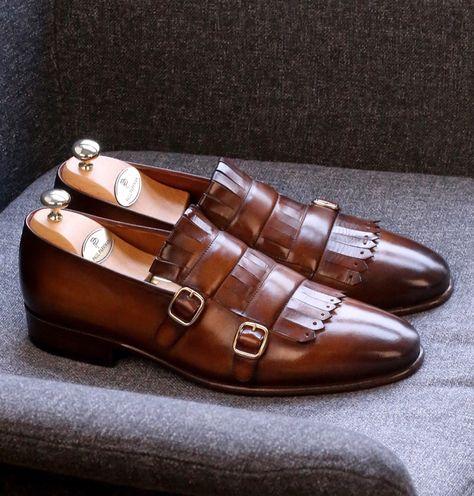 HAPPYSHOP TM Mens Leather Tassel Oxfords Pointed Toe Derbies Slip-on Business Shoes 38 M EU, Black