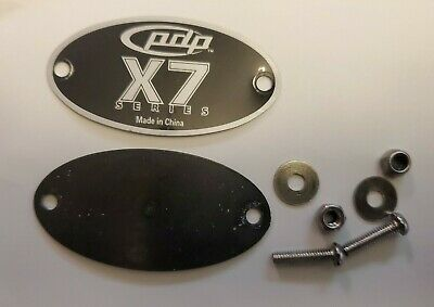 Pdp X7 By Dw Drum Badge With Hardware Tom Bass Parts Builder Dw Drums Drums Tom Bass